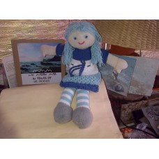 Knitted Rag Doll - Sandi