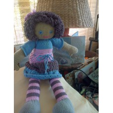 Knitted Rag Doll - Rosie