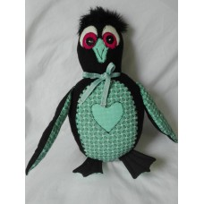 Cheeky Penguin Chick - Sea Green
