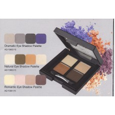 Colour Caress Dramatic, Romantic and Natural  Eye Shadow Palettes
