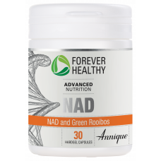 NAD and Green Rooibos, 30 hardgel capsules