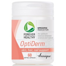 OptiDerm, for Skin, Hair and Nail support, 60 Capsules