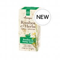 Rooibos and Hemp Seed Herbal Tea, 20 sachets
